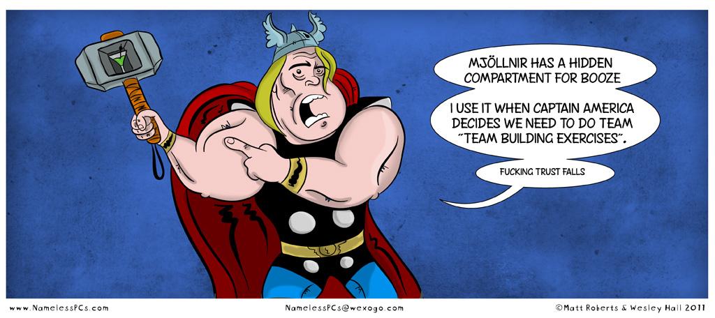 Super Hero Confession: Thor