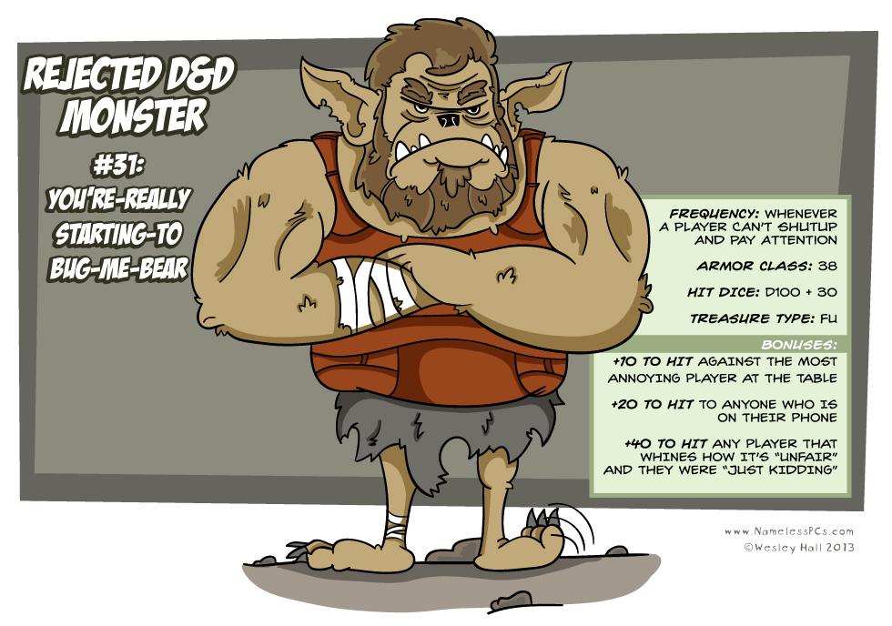 Rejected D&D Monsters #31
