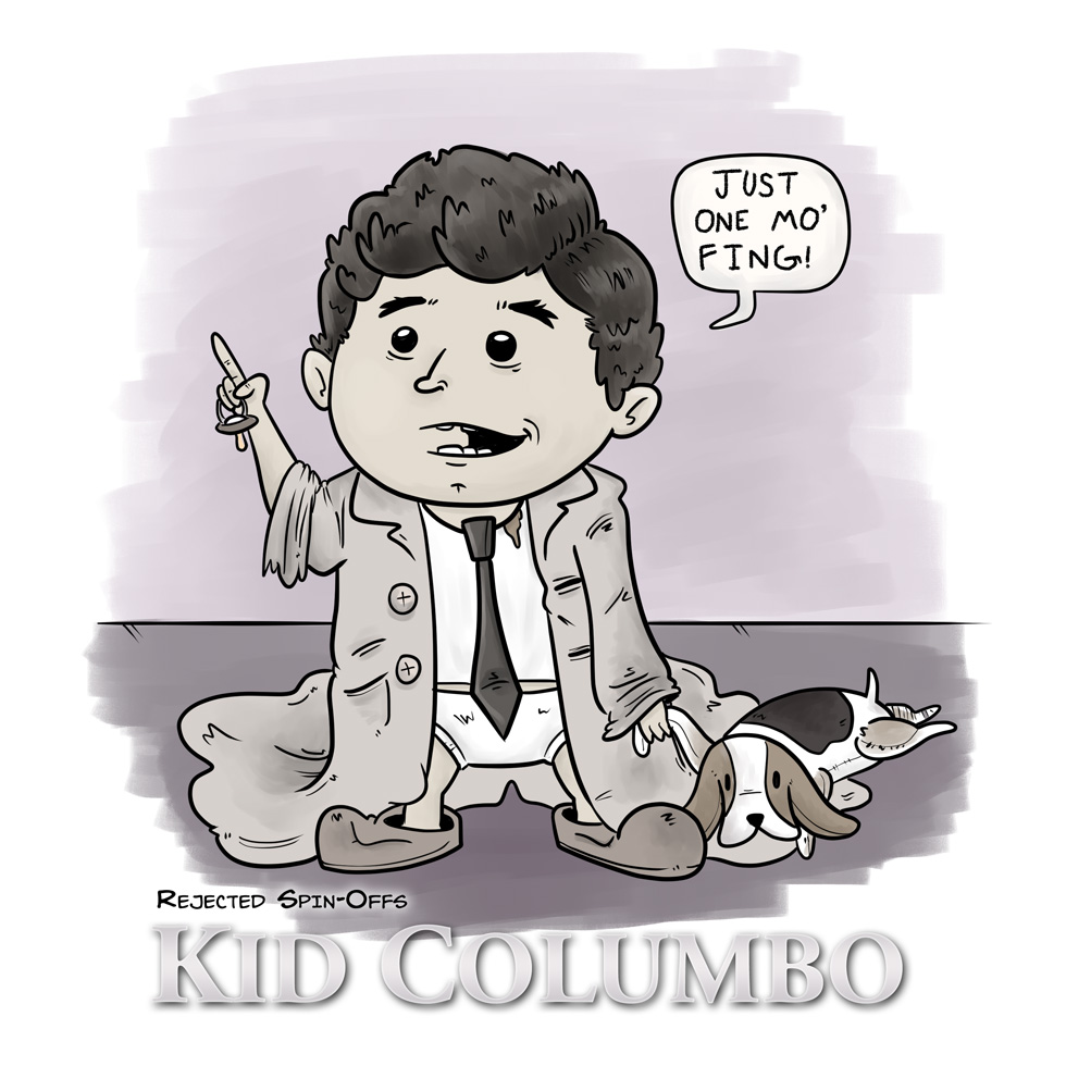 Rejected Spin-Offs: Kid Columbo