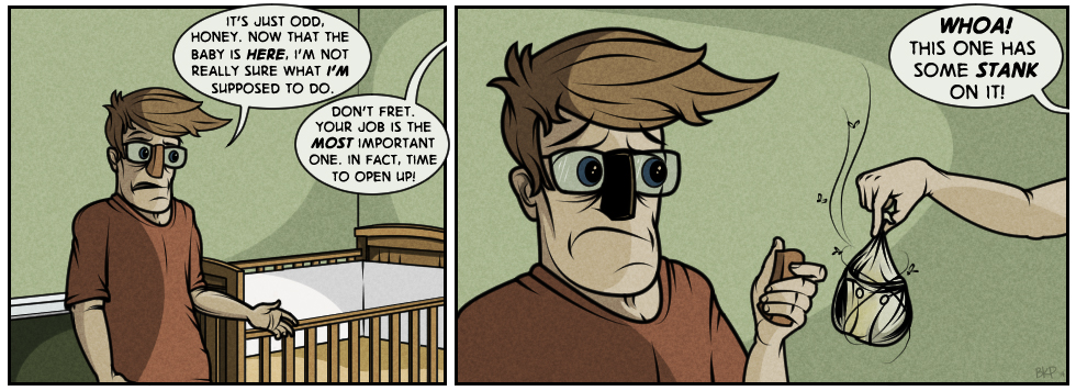 Paternity Party: Guest Comic from Kevin Parham