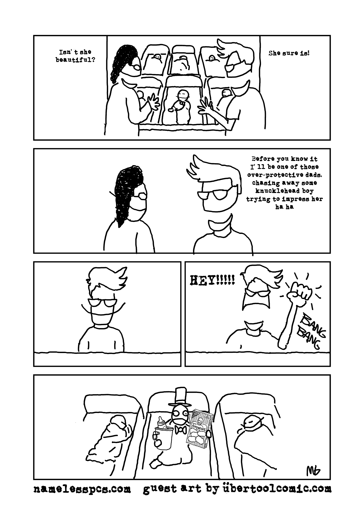 Paternity Party: Guest Comic by Mark Glavin of Ubertool!