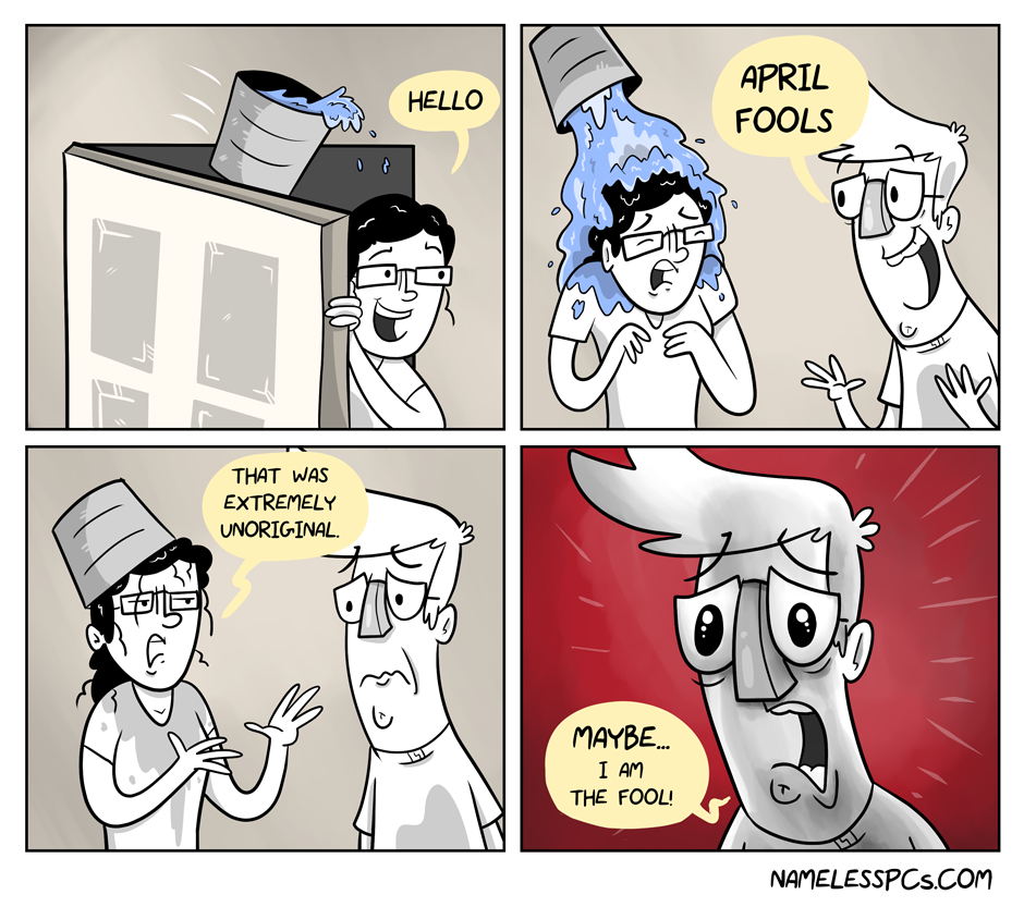 The Fool of April