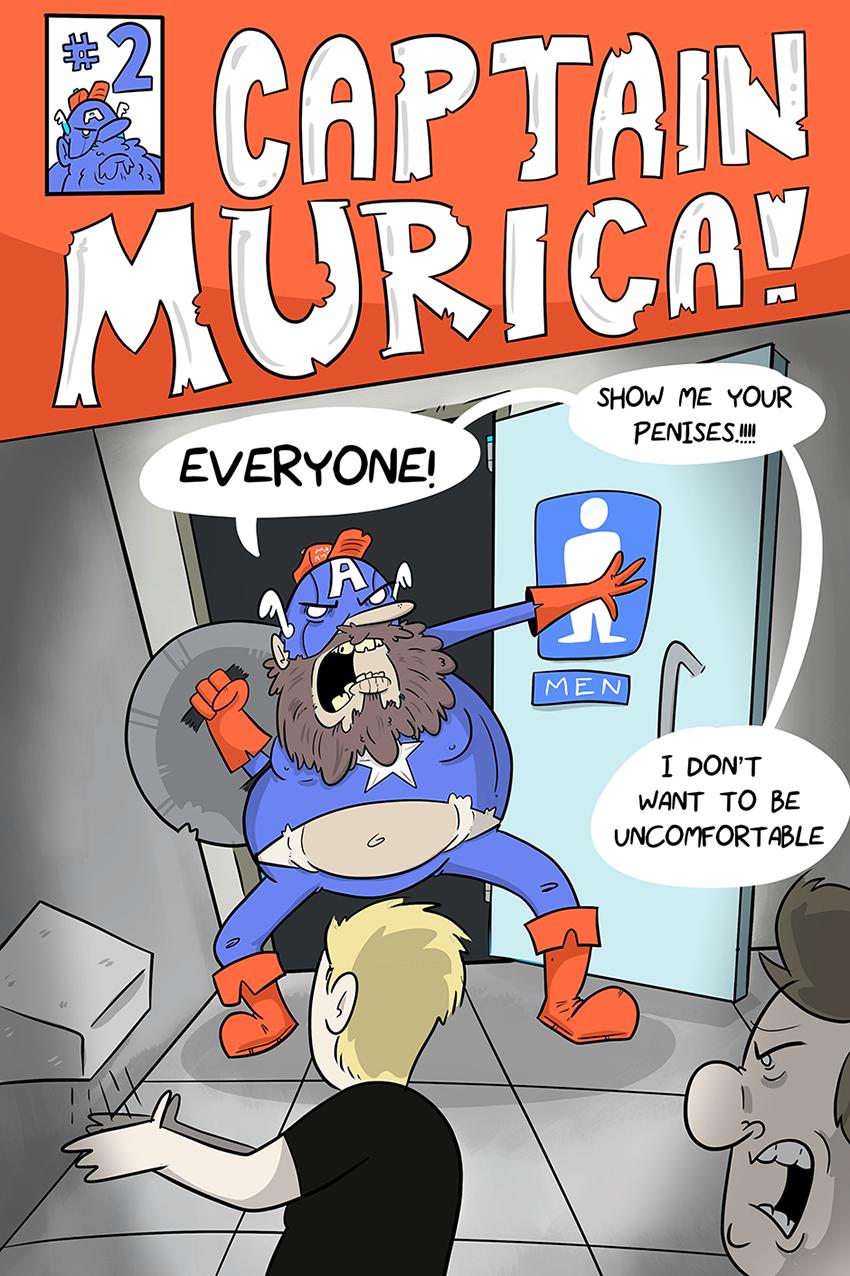 CAPTAIN MURICA!