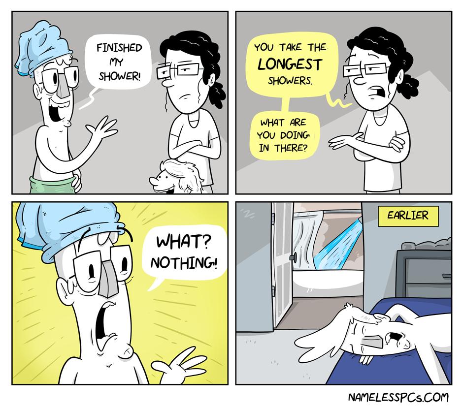 Long Showers
