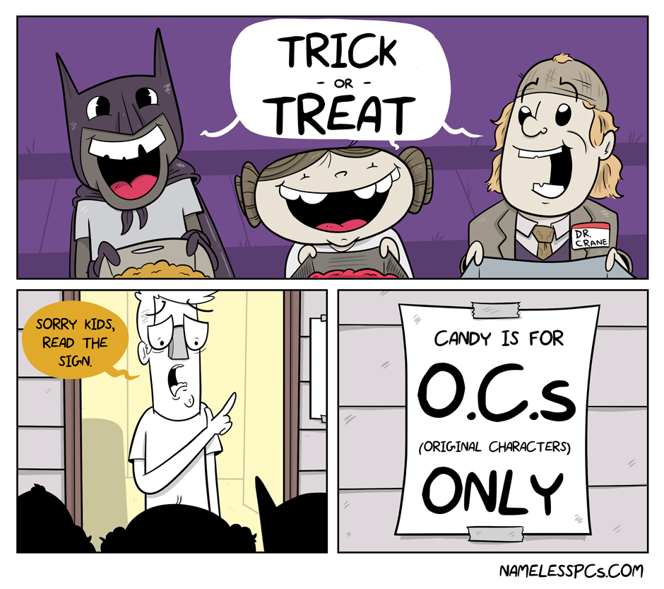 TRICK – OR – TREATERS